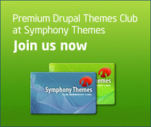Drupal themes at SymphonyThemes