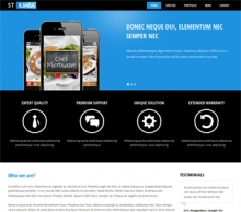Drupal theme for business and corporate templates - ST Ilimba
