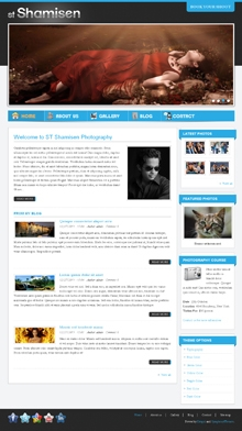 ST Shamisen - Drupal photography theme from Symphony Themes