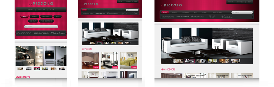 Drupal theme ST Piccolo demo
