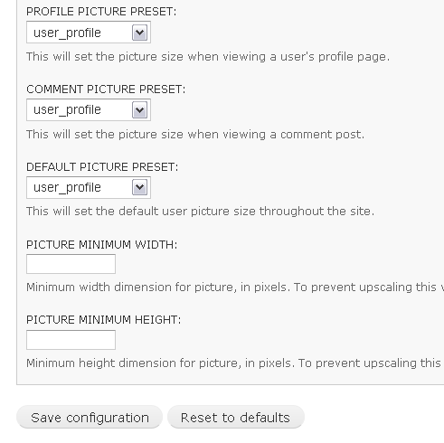 ImageCache and user profile picture