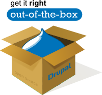 Drupal out-of-the-box package