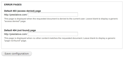 How to make custom 403 and 404 page in Drupal | Drupal Blog – Recent ...