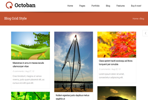 ST Octoban Blog Options
