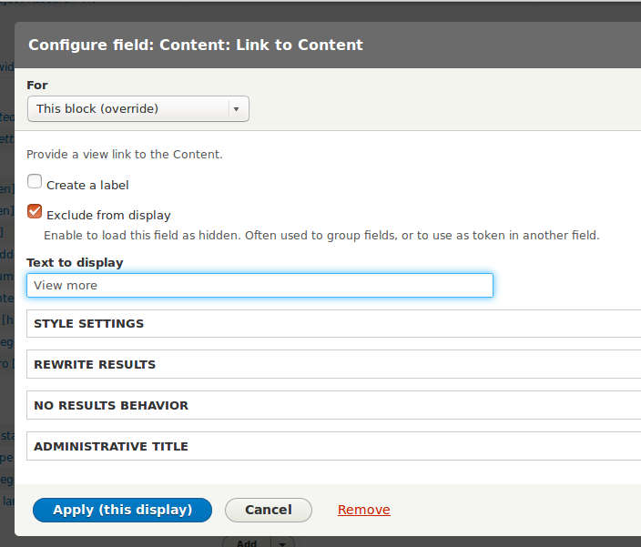 Translate Content: Link to Content field on Views in Drupal