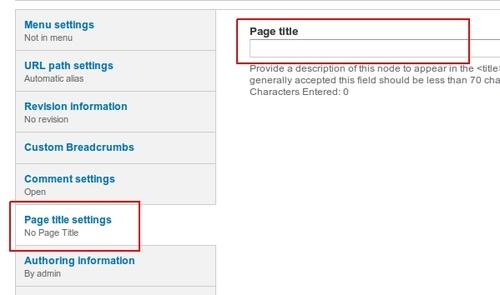 Set Drupal page title and node title for SEO | Drupal Blog