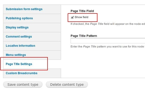 Configure Drupal page title to show editing field