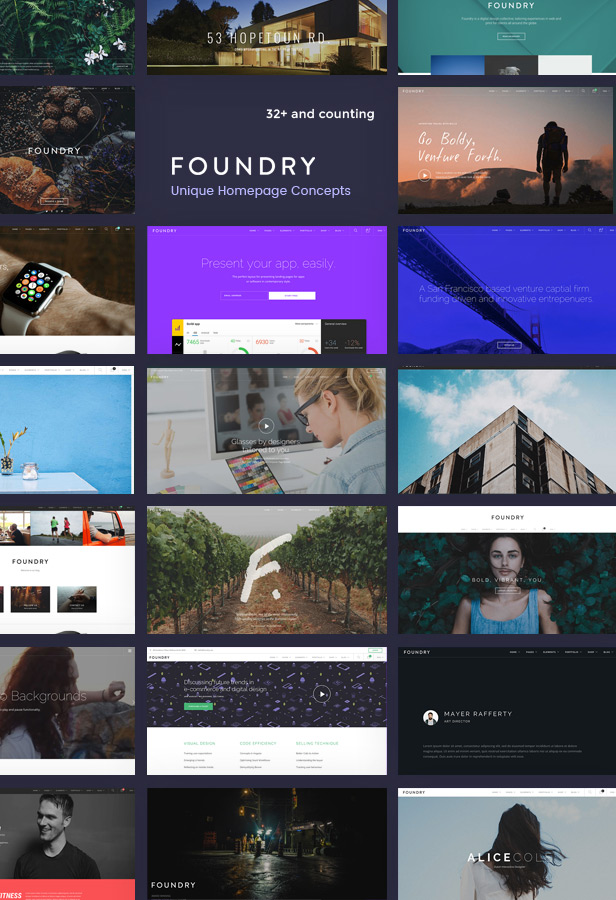 ST Foundry, responsive Drupal 8 theme