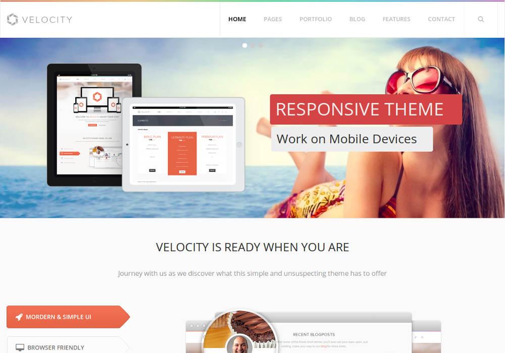 Velocity - Responsive Drupal 7 Multi-purpose Theme   SymphonyThemes