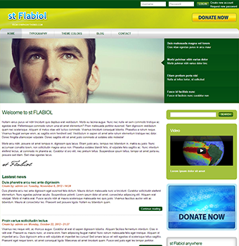 Drupal 7 free theme] - ST Flabiol is available for free download ...